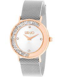 Liu Jo Tlj1448 Dancing Slim Quartz Watch Silver - Metallic