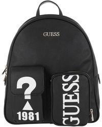 Guess Utility Vibe Large Backpack Black - Noir