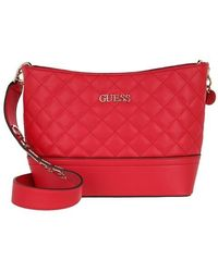 Guess Illy Bucket Bag - Rouge