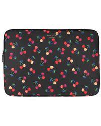 Kate Spade Cherries Universal Laptop Bag Black Multi - Noir