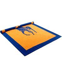 Polo Ralph Lauren Strandtuch aus Frottee - Orange