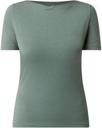 Vero Moda Shirt mit U-Boot-Ausschnitt Modell 'Panda' - Grün