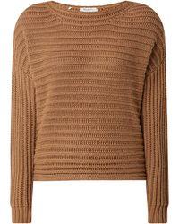 maerz muenchen Pullover mit Kaschmir-Anteil - Braun