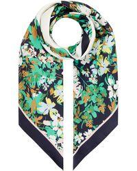 Esprit Tuch mit Allover-Muster - Grün