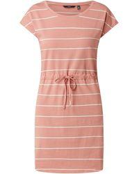 Vero Moda Jerseykleid aus Bio-Baumwolle Modell 'April' - Pink