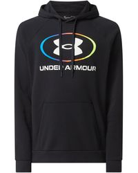 Under Armour - Loose Fit Hoodie mit Logo - Lyst