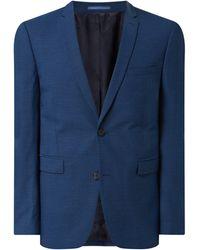 Esprit Collection 2-Knopf-Sakko mit Woll-Anteil - Blau