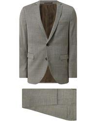 Matíníque Anzug mit Woll-Anteil Modell 'George' - Grün