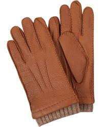 eem-fashion Handschuhe aus Hirschnappa - Braun