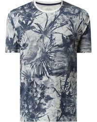 Only & Sons T-Shirt aus Bio-Baumwolle Modell 'Troy' - Blau