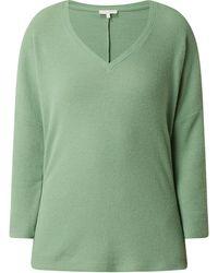 Tom Tailor Denim Sweatshirt mit Viskose-Anteil - Grün