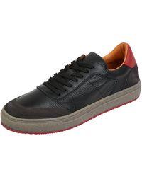 Cinque Sneaker aus Leder Modell 'Cigaspare' - Schwarz