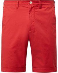 GANT Regular Fit Chino-Shorts mit Stretch-Anteil - Rot