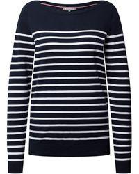 Tommy Hilfiger Pullover mit Streifenmuster - Blau