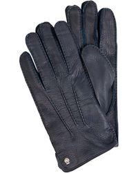 Roeckl Sports Handschuhe aus Leder - Blau