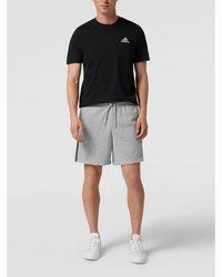 adidas Originals Sweatshorts Met Logostrepen - Grijs