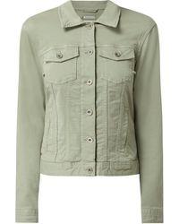 Tom Tailor Jeansjacke mit Stretch-Anteil - Grün
