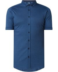 DESOTO - Regular Fit Business-Hemd aus Jersey - Lyst