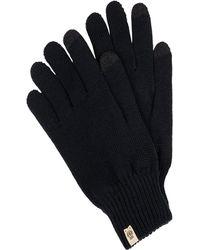 Roeckl Sports Handschuhe mit Logo-Applikation - Schwarz
