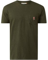 RVLT Loose Fit T-Shirt mit Bio-Baumwolle - Grün