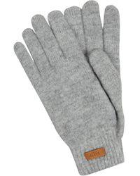 Barts Handschuhe mit Logo Modell 'Witzia' - Mettallic