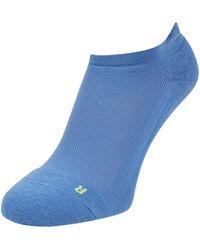 FALKE Sneakersocken mit gepolsterter Sohle Modell 'Cool Kick' - Blau