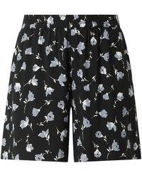 Jake*s Casual Shorts aus Viskose - Grau