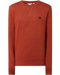 Ben Sherman Regular Fit Sweatshirt aus Bio-Baumwolle - Rot