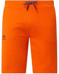 La Martina Sweatshorts mit Logo - Orange