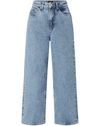 Vero Moda Boyfriend Fit Jeans Modell 'Kathy' - 'Better Cotton Initiative' - Blau