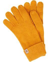 Roeckl Sports Handschuhe mit Kaschmir-Anteil - Gelb