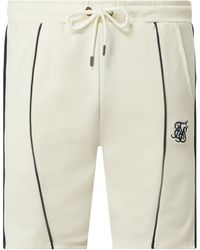 SIKSILK Shorts mit Stretch-Anteil - Weiß
