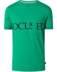 Q/S designed by Regular Fit T-Shirt aus Baumwolle - Grün