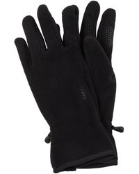 Barts Touchscreen-Handschuhe aus Fleece - Schwarz