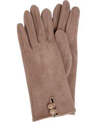 eem-fashion Handschoenen Met Fleecevoering - Naturel