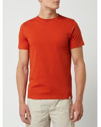 Norse Projects T-Shirt aus Baumwolle Modell 'Niels' - Orange