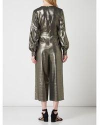 Ted Baker Jumpsuit In Gouden Look - Metallic