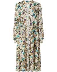 Lolly's Laundry Kleid aus Baumwolle Modell 'Kala' - Weiß