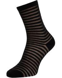 Falke Socken mit Glitter-Effekt - Schwarz