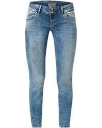 LTB Super Slim Fit Jeans mit Stretch-Anteil - Blau
