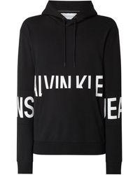 Calvin Klein - Hoodie mit Logo-Prints - Lyst