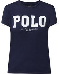 Polo Ralph Lauren T-Shirt mit Logo-Print - Blau