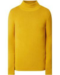 Redefined Rebel Pullover aus reiner Baumwolle - Gelb