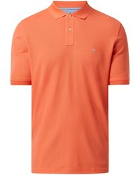 Fynch-Hatton Poloshirt aus Supima®-Baumwolle - Orange