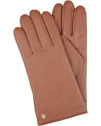 Roeckl Sports Handschuhe aus Nappaleder - Braun