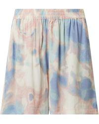 Jake*s Casual Shorts in Batik-Optik - Pink