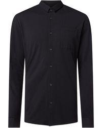 Esprit Collection Slim Fit Business-Hemd mit Stretch-Anteil - Schwarz