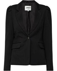 ONLY Blazer Met 1-knoopssluiting, Model 'tasia-vike' - Zwart