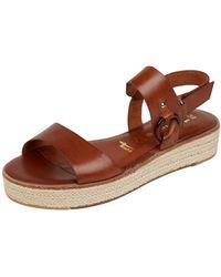 Tamaris - Sandalen aus Leder - Lyst