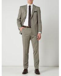 Carl Gross Modern Fit Pantalon Met Stretch, Model 'shiver' - Groen